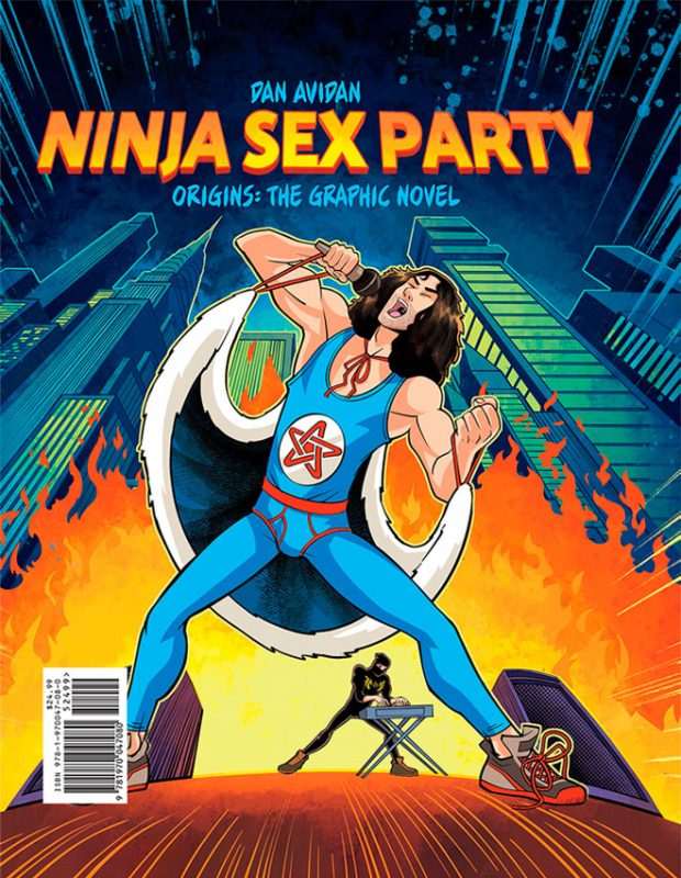 NINJA SEX PARTY – ORIGINS: THE GRAPHIC NOVEL